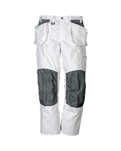 CRAFTSMAN COTTON TROUSERS 258 BM White Size - 34 Long