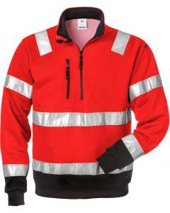 High vis halfzip sweatshirt cl 3 728 BPV