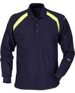 Flamestat long sleeve polo shirt 784 PFLA