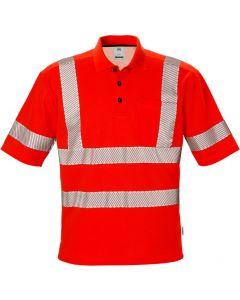 High vis polo shirt cl 3 7406 TPS
