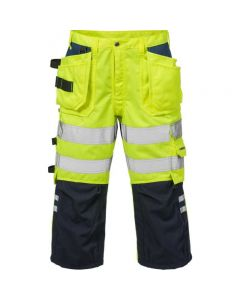 HIGH VIS PIRATE TROUSERS CL 2 2027 PLU NAVY/HI VIS YELLOW Size - 38R