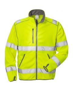 High vis soft shell jacket cl 3 4840 SSL