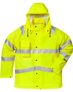 Flame high vis rain jacket cl 3 4845 RSHF