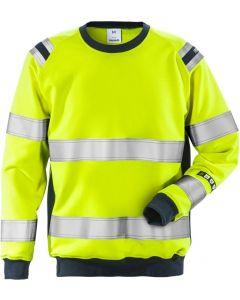 Flamestat high vis sweatshirt cl 3 7076 SFLH