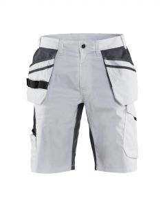 Painter shorts with stretch