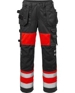 High vis craftsman trousers woman cl 1 2129 PLU
