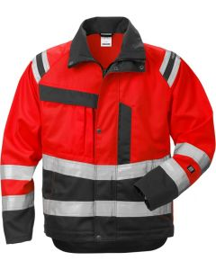 High vis jacket woman cl 3 4129 PLU
