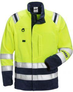 Flamestat high vis fleece jacket cl 3 4063 ATF