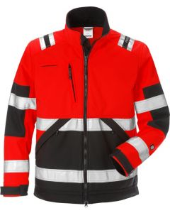 High vis soft shell jacket woman cl 2 4183 WYH