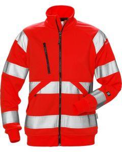 High vis sweat jacket woman cl 3 7427 SHV