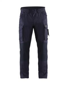 Flame retardant inherent trouser with stretch