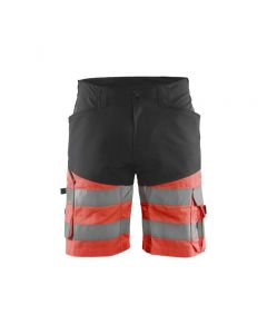 High vis shorts with stretch