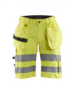 Highvis shorts with stretch