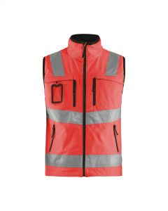 High vis softshell vest