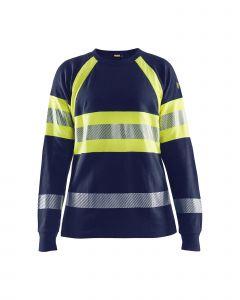 Flame retardant long-sleeve women's t-shirt