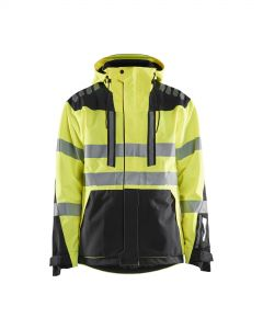High vis shell jacket