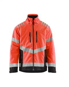 High vis winter jacket