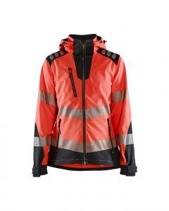 Womens hi-vis softshell jacket